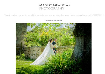 an example of the images created by Mandy Medows