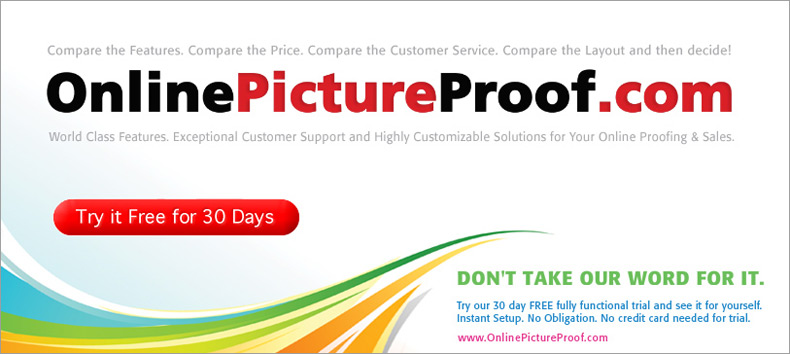 Online Picture Proofing