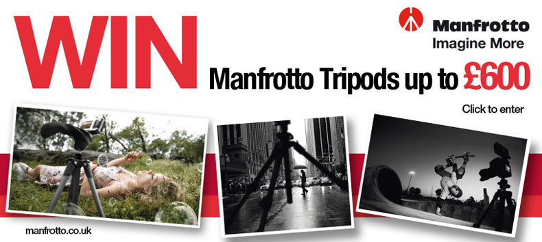 Win A Manfrotto 190CXPRO4 Tripod